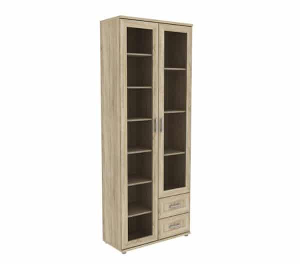 Книжный шкаф 502-13 дуб сонома фото | интернет-магазин Складно