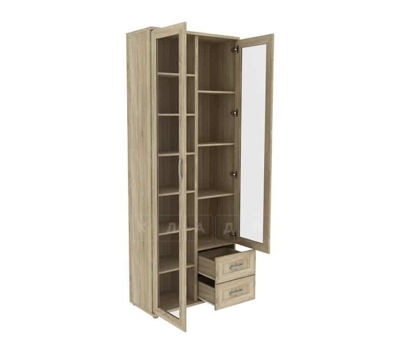 Книжный шкаф 502-13 дуб сонома фото 2   интернет-магазин Складно