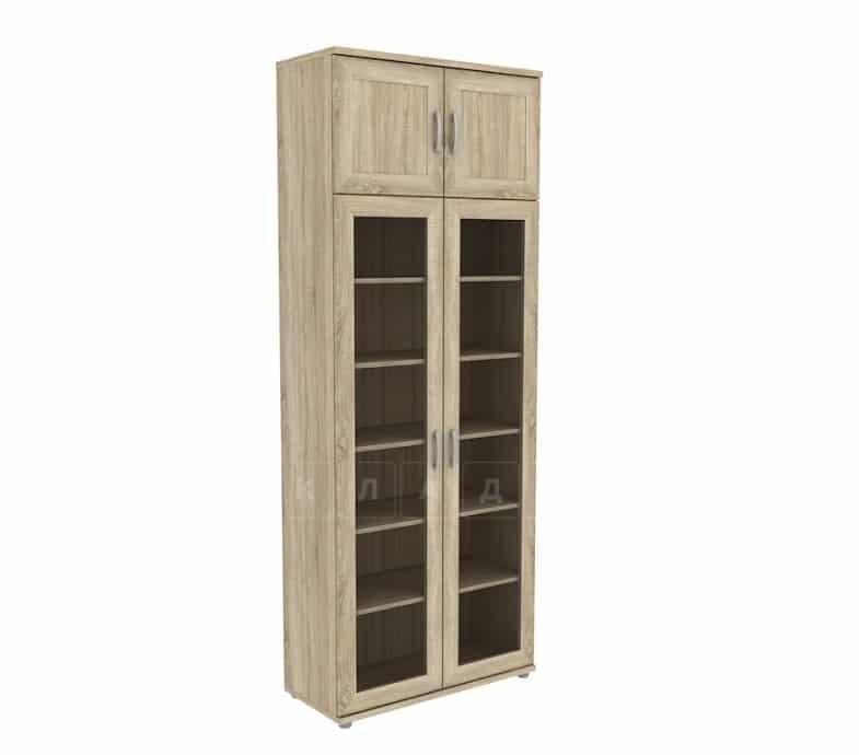 Книжный шкаф 502-07 дуб сонома фото 1 | интернет-магазин Складно