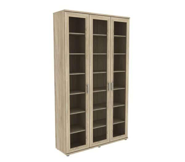 Книжный шкаф 503-02 дуб сонома фото | интернет-магазин Складно