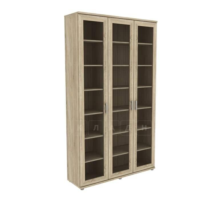 Книжный шкаф 503-02 дуб сонома фото 1 | интернет-магазин Складно