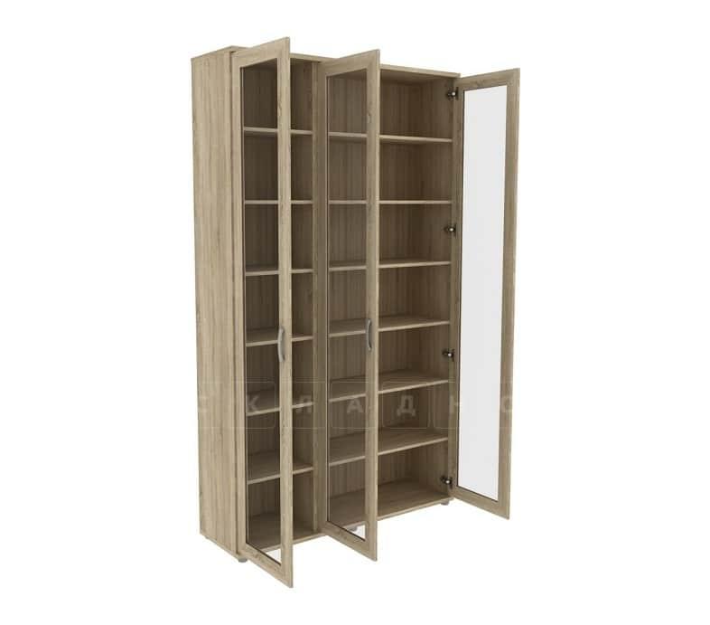 Книжный шкаф 503-02 дуб сонома фото 2 | интернет-магазин Складно