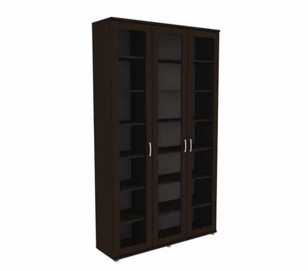 Книжный шкаф 503-02 венге фото | интернет-магазин Складно