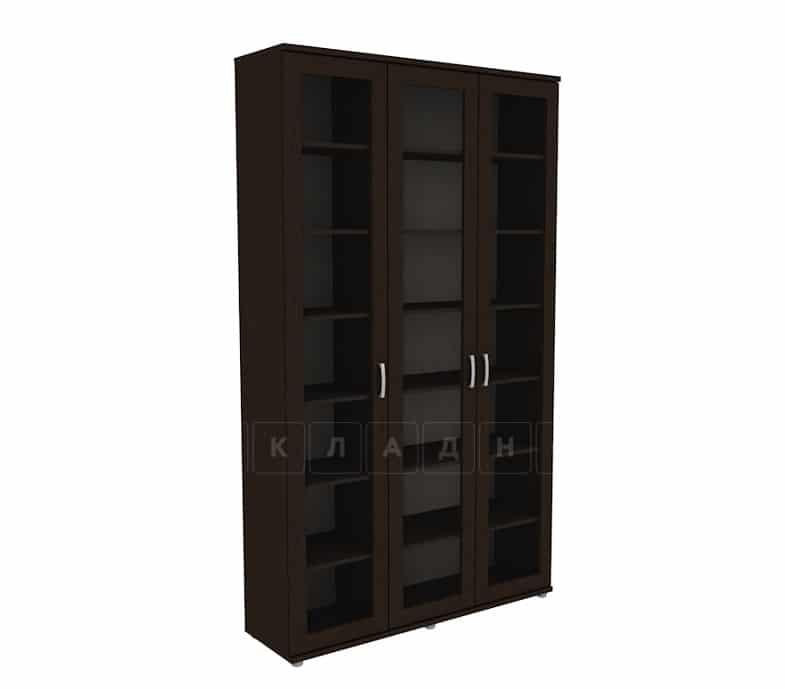Книжный шкаф 503-02 венге фото 1 | интернет-магазин Складно