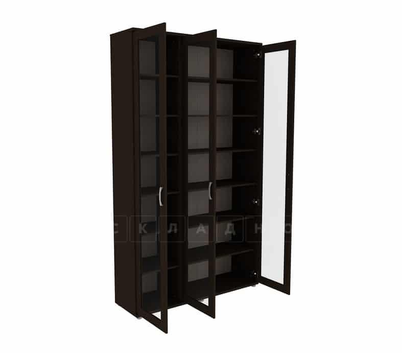Книжный шкаф 503-02 венге фото 2 | интернет-магазин Складно
