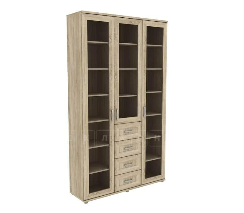 Книжный шкаф 503-04 дуб сонома фото 1 | интернет-магазин Складно