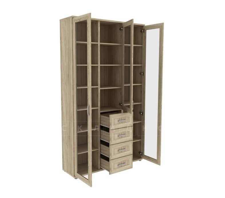 Книжный шкаф 503-04 дуб сонома фото 2 | интернет-магазин Складно