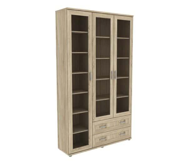 Книжный шкаф 503-06 дуб сонома фото | интернет-магазин Складно