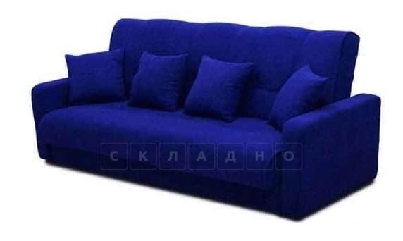 Диван-книжка Комфорт пружинный синий фото | интернет-магазин Складно
