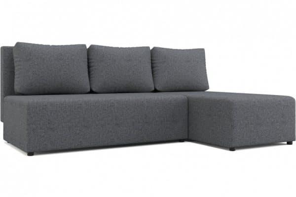 Угловой диван Комо серый фото | интернет-магазин Складно