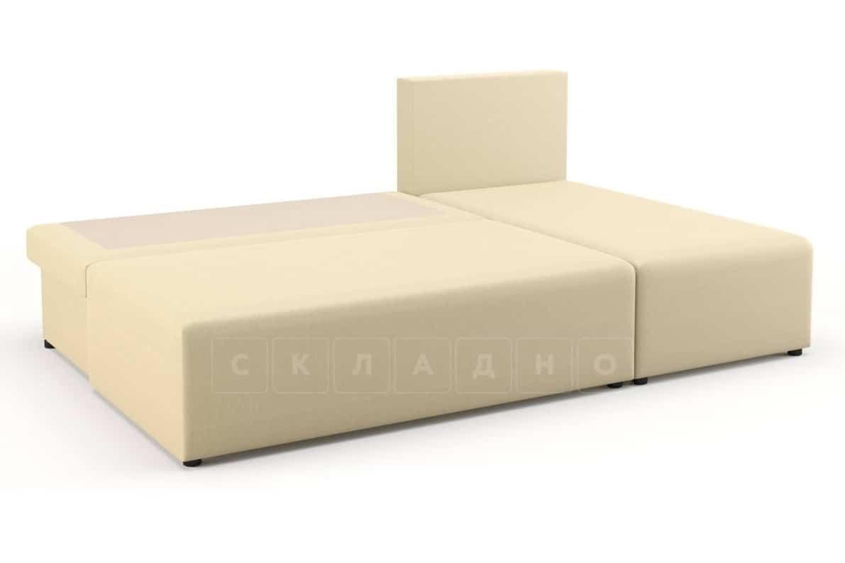 Угловой диван Комо молочный фото 3 | интернет-магазин Складно