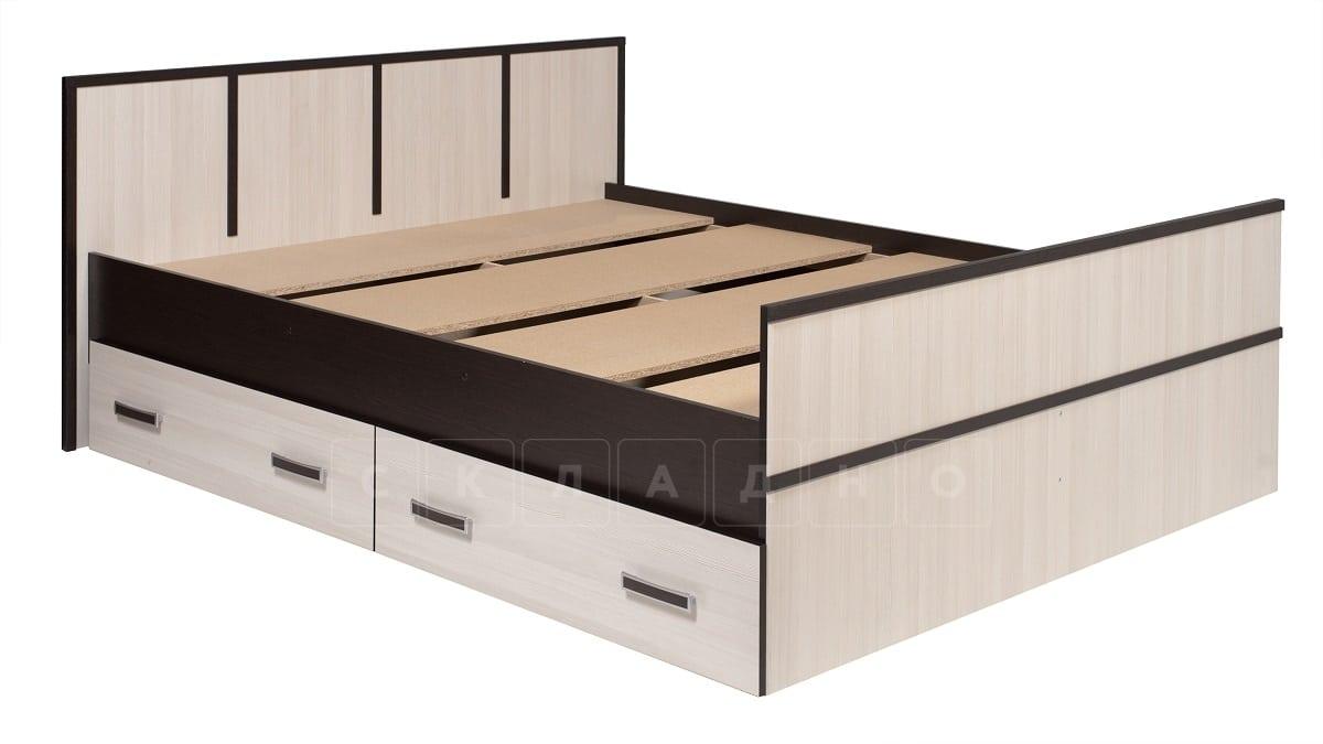 Кровать с ящиками Сакура 140 см фото 2 | интернет-магазин Складно