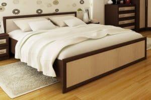 Кровать Зиля ЗК-1,4 широкий штапик фото | интернет-магазин Складно