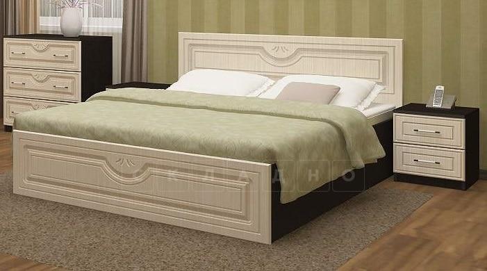 Кровать Зиля МДФ 140 см фото 2 | интернет-магазин Складно