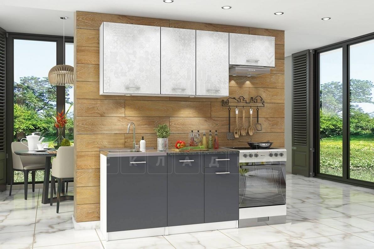 Кухонный гарнитур Бланка 2,0 м спринт фото 1 | интернет-магазин Складно
