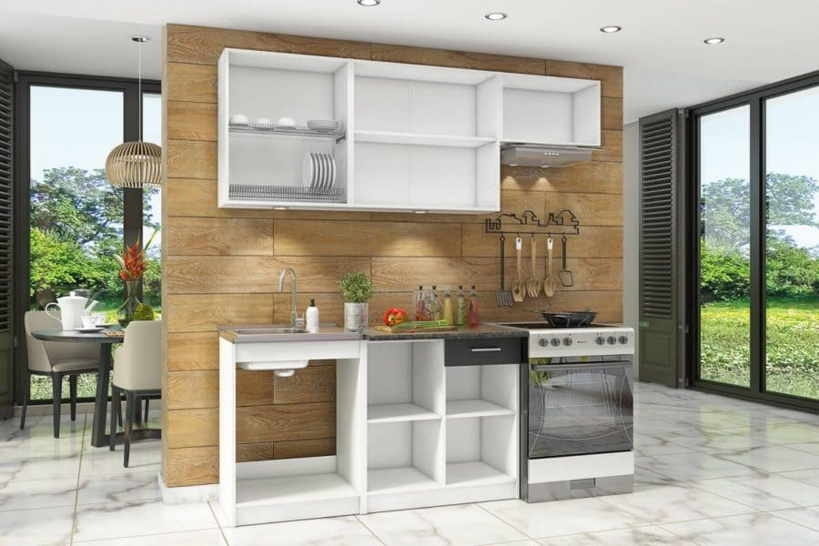 Кухонный гарнитур Бланка 2,0м спринт фото 2 | интернет-магазин Складно