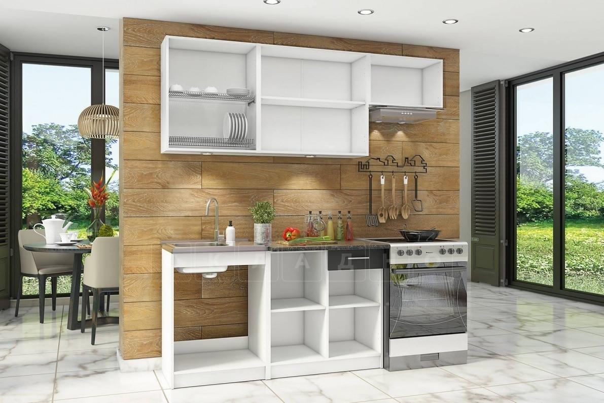 Кухонный гарнитур Бланка 2,0 м спринт фото 2 | интернет-магазин Складно