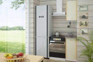 Кухонный гарнитур Бланка 40см цвета дуб кремона фото | интернет-магазин Складно