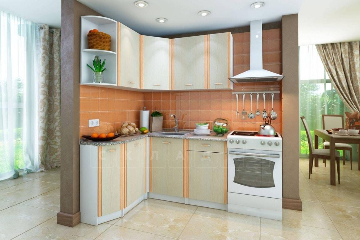 Кухня угловая Бланка 1,4х1,4 м дуб кремона левая фото 1 | интернет-магазин Складно