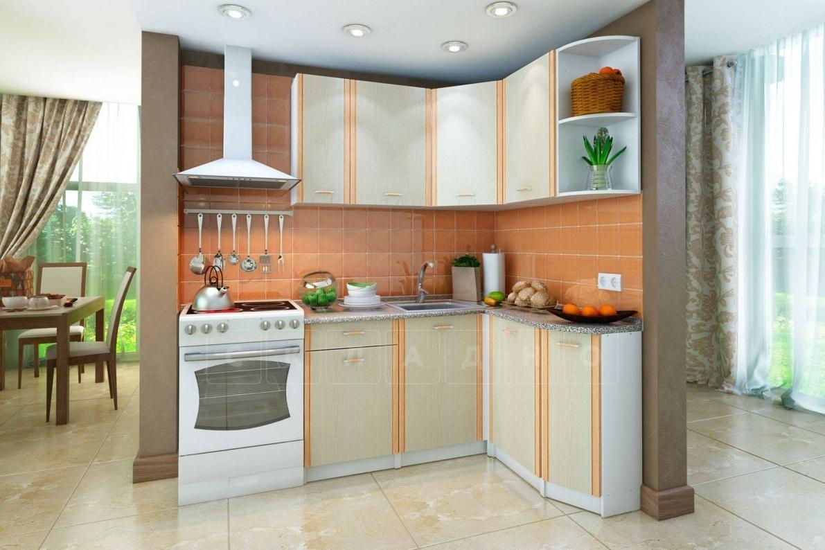 Кухня угловая Бланка 1,4х1,4м дуб кремона правая фото 1 | интернет-магазин Складно