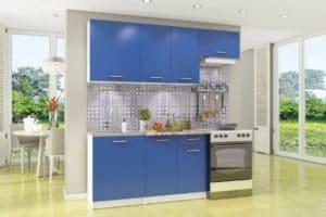 Кухонный гарнитур Бланка 2,0 м королевский синий  10370  рублей, фото 1 | интернет-магазин Складно