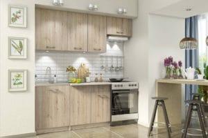 Кухонный гарнитур Бланка 2,0м дуб кантри фото | интернет-магазин Складно