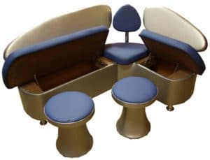 Кухонный диван Техно 120х120 см Мини 9440 рублей, фото 2 | интернет-магазин Складно