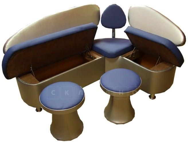 Кухонный диван Техно 120х120 см Мини фото 2 | интернет-магазин Складно