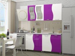 Кухонный гарнитур Волна 1,6м 9950 рублей, фото 2 | интернет-магазин Складно