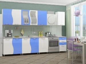 Кухонный гарнитур Волна 2,5 м  27790  рублей, фото 1 | интернет-магазин Складно