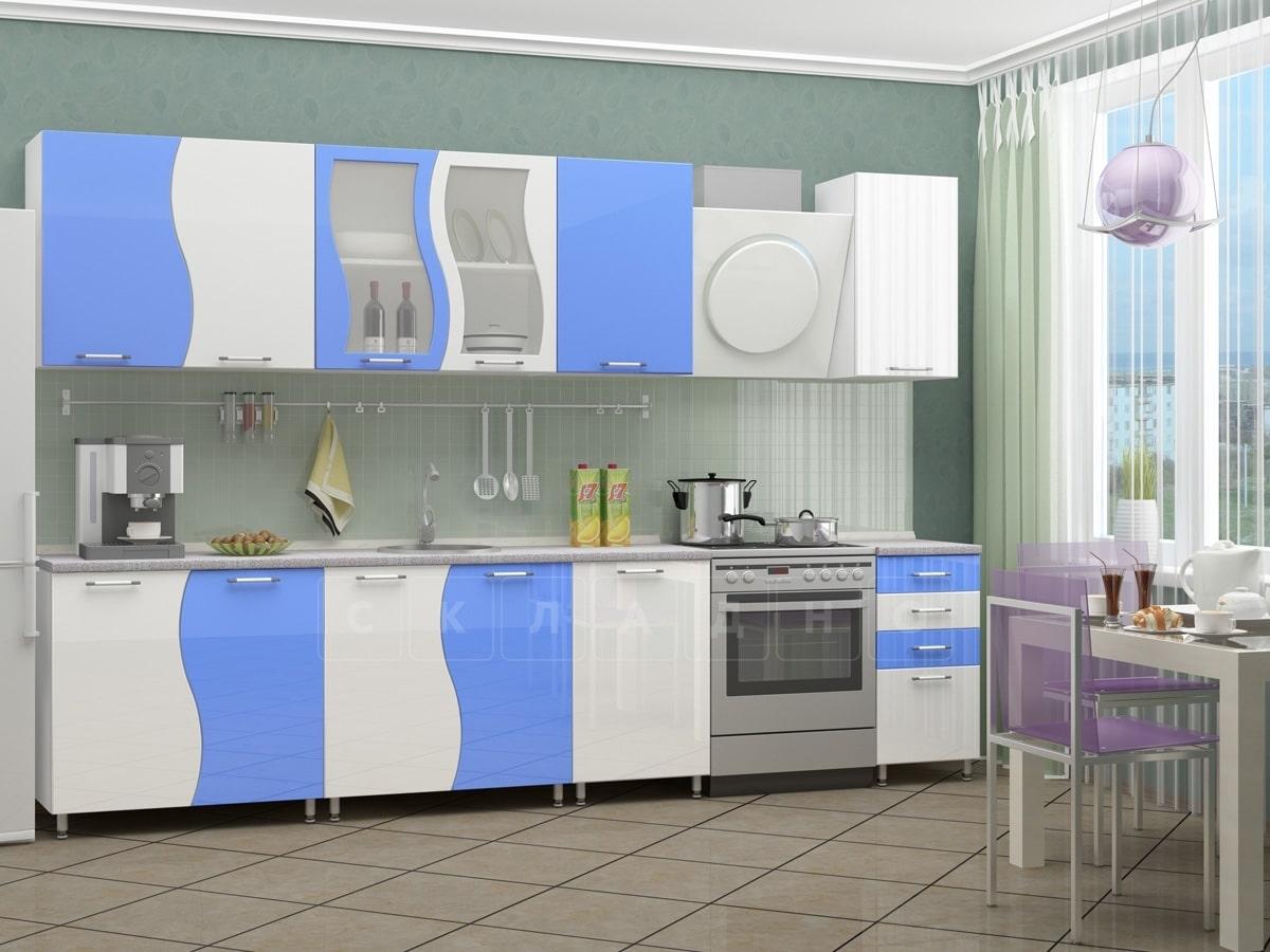 Кухонный гарнитур Волна 2,5 м фото 1 | интернет-магазин Складно