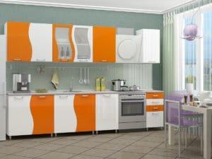 Кухонный гарнитур Волна 2,5 м 27790 рублей, фото 2 | интернет-магазин Складно