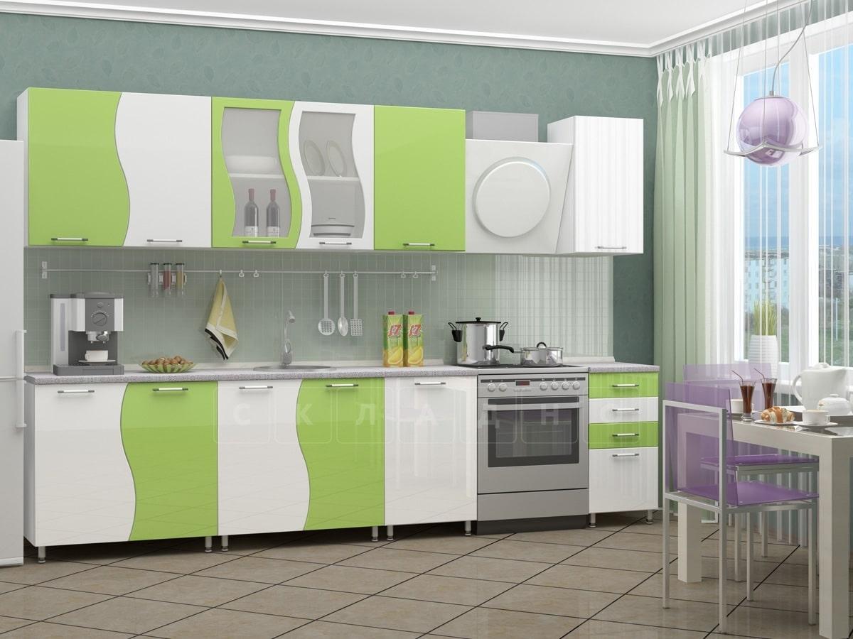 Кухонный гарнитур Волна 2,5 м фото 5 | интернет-магазин Складно