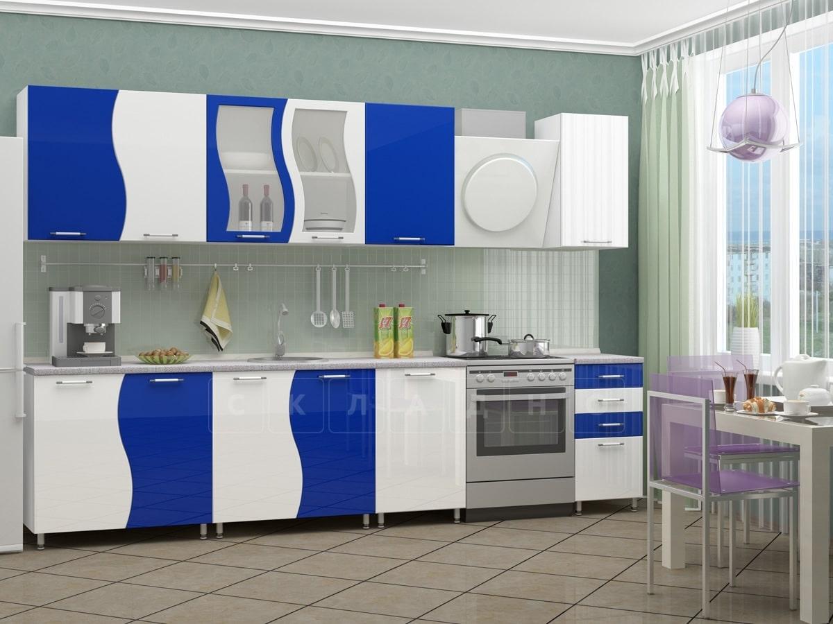 Кухонный гарнитур Волна 2,5 м фото 4 | интернет-магазин Складно
