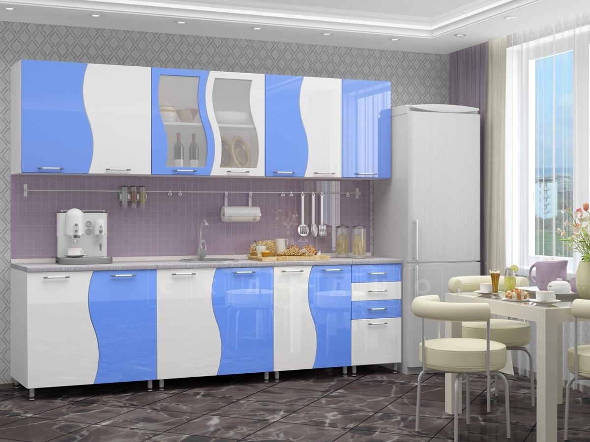 Кухонный гарнитур Волна 2,6 м фото 4 | интернет-магазин Складно