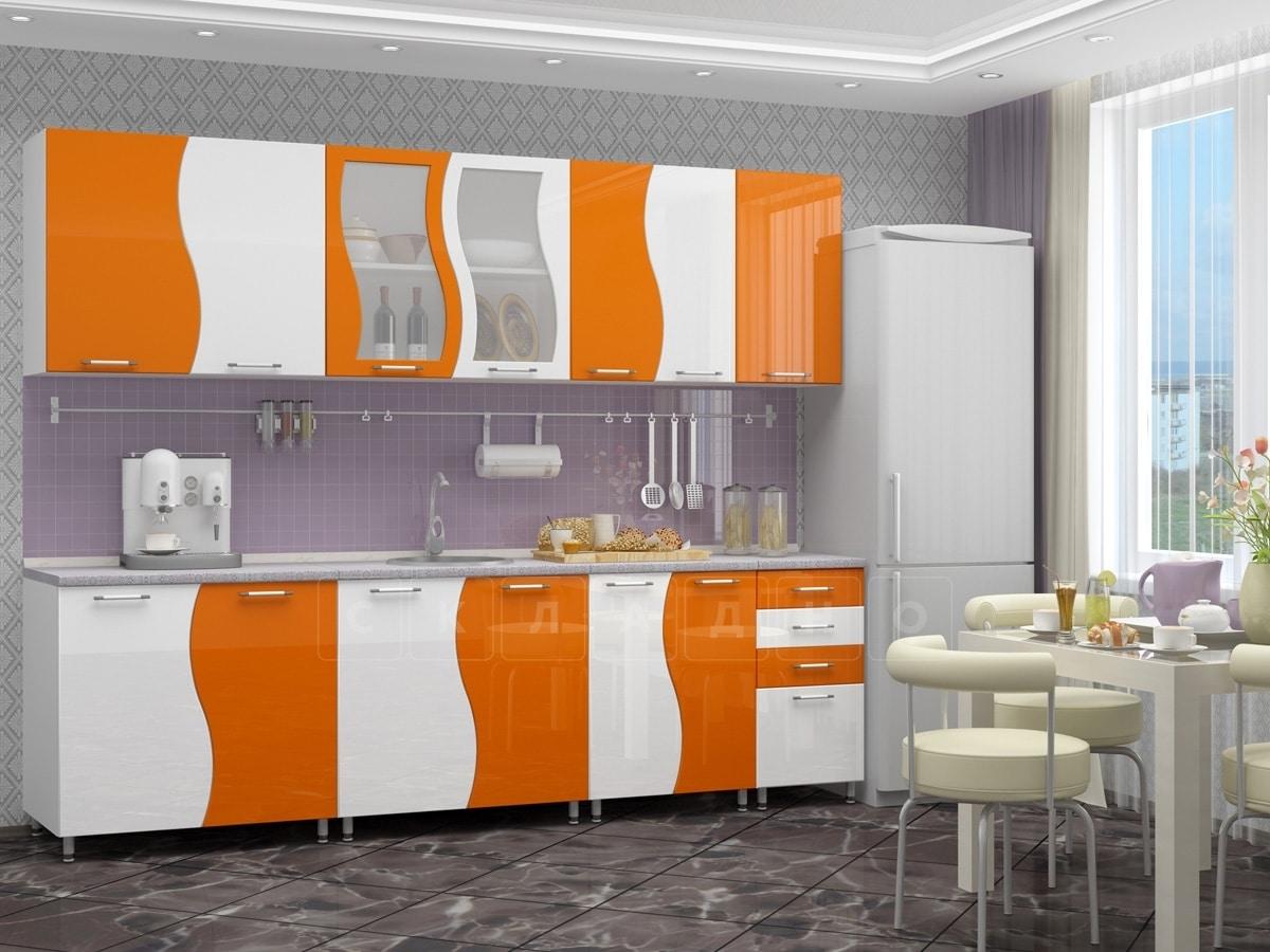 Кухонный гарнитур Волна 2,6 м фото 3 | интернет-магазин Складно