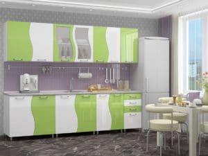 Кухонный гарнитур Волна 2,6 м  18170  рублей, фото 1 | интернет-магазин Складно