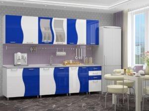 Кухонный гарнитур Волна 2,6 м 18170 рублей, фото 5 | интернет-магазин Складно