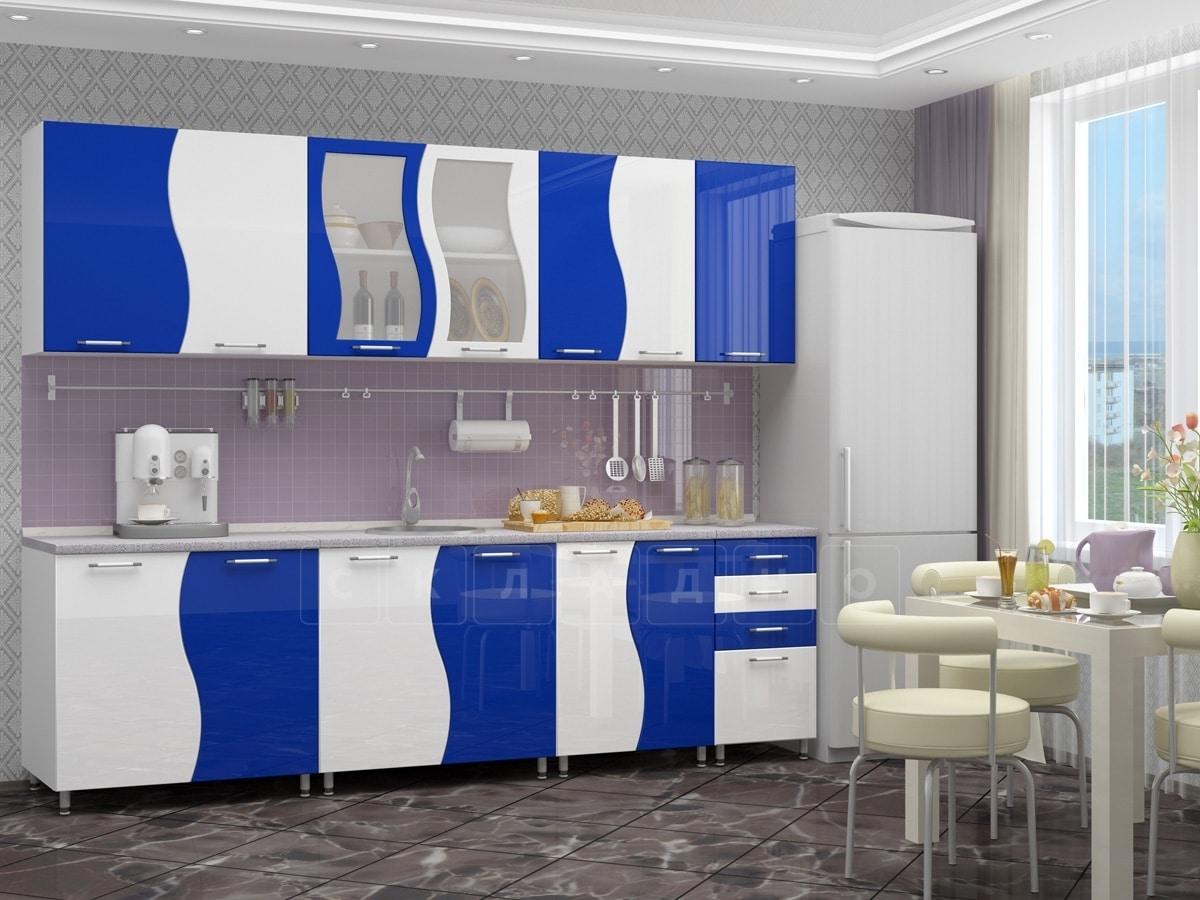 Кухонный гарнитур Волна 2,6 м фото 5 | интернет-магазин Складно
