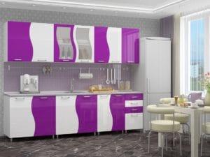 Кухонный гарнитур Волна 2,6 м 18170 рублей, фото 2 | интернет-магазин Складно