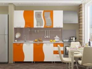 Кухонный гарнитур Волна 2,0 м 18910 рублей, фото 5 | интернет-магазин Складно