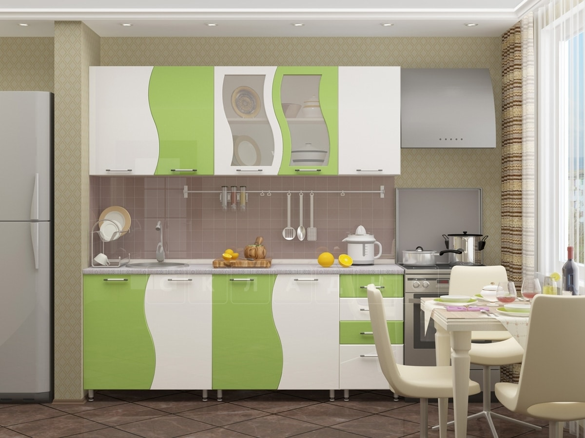 Кухонный гарнитур Волна 2,0 м фото 4 | интернет-магазин Складно