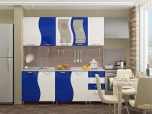 Кухонный гарнитур Волна 2,0 м 18910 рублей, фото 2 | интернет-магазин Складно