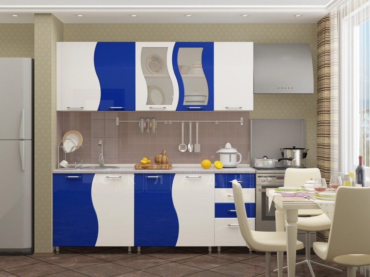 Кухонный гарнитур Волна 2,0 м фото 2 | интернет-магазин Складно