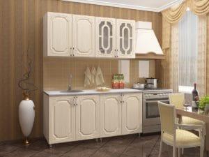 Кухонный гарнитур Жасмин 1,6м 9370 рублей, фото 2 | интернет-магазин Складно