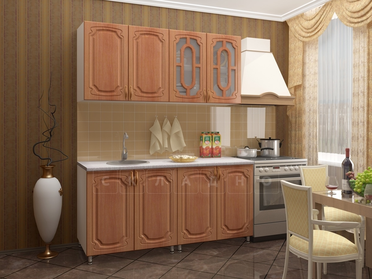 Кухонный гарнитур Жасмин 1,6м фото 1 | интернет-магазин Складно