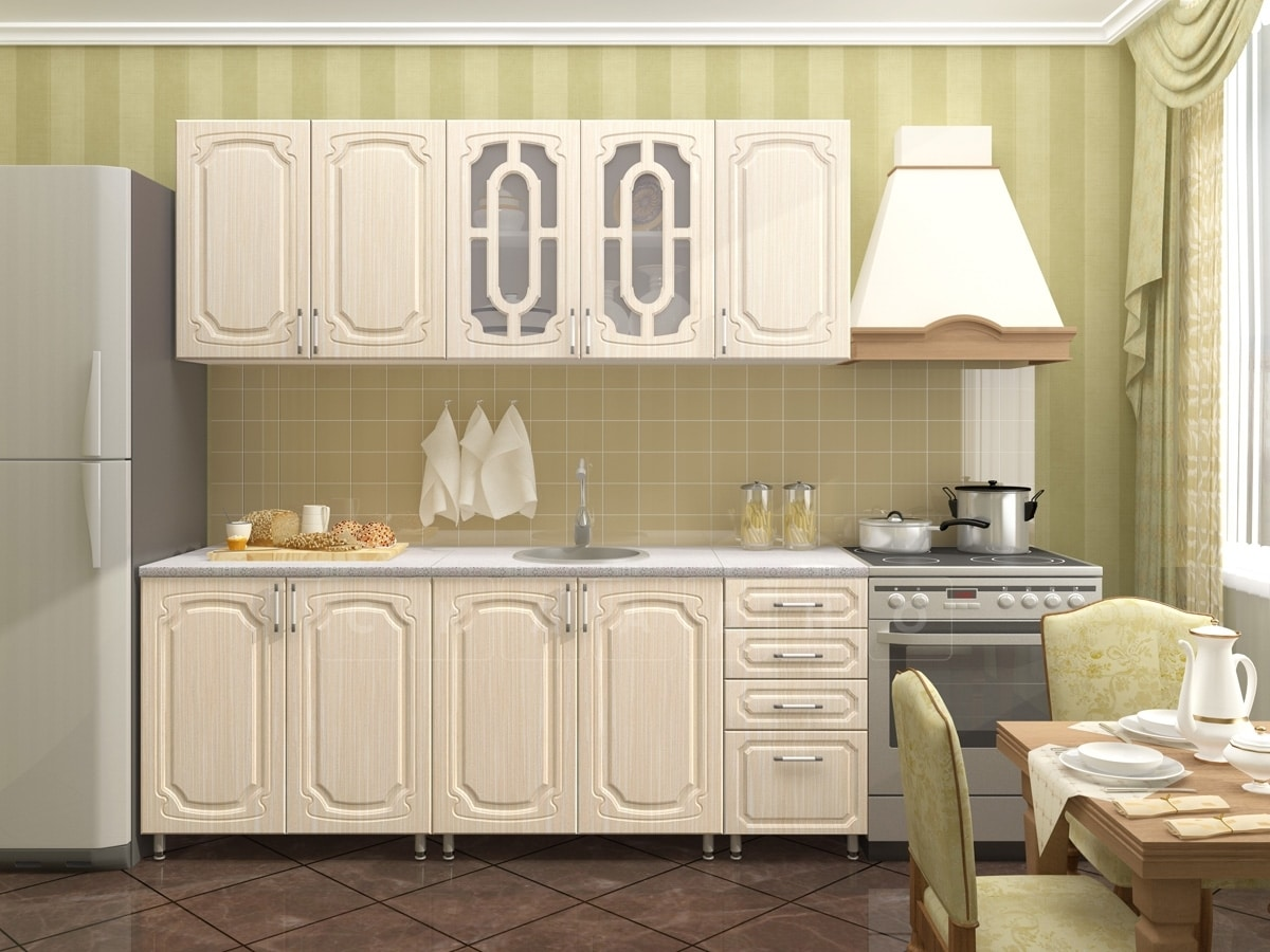 Кухонный гарнитур Жасмин 2,0м фото 1 | интернет-магазин Складно