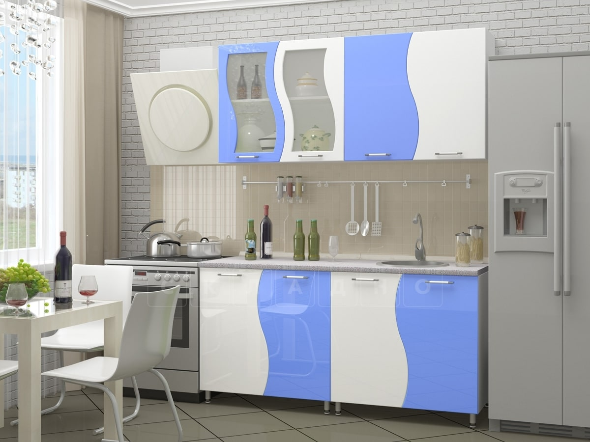 Кухонный гарнитур Волна 1,6м фото 3 | интернет-магазин Складно