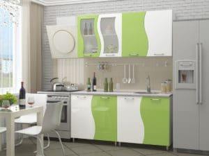 Кухонный гарнитур Волна 1,6м 9950 рублей, фото 1 | интернет-магазин Складно