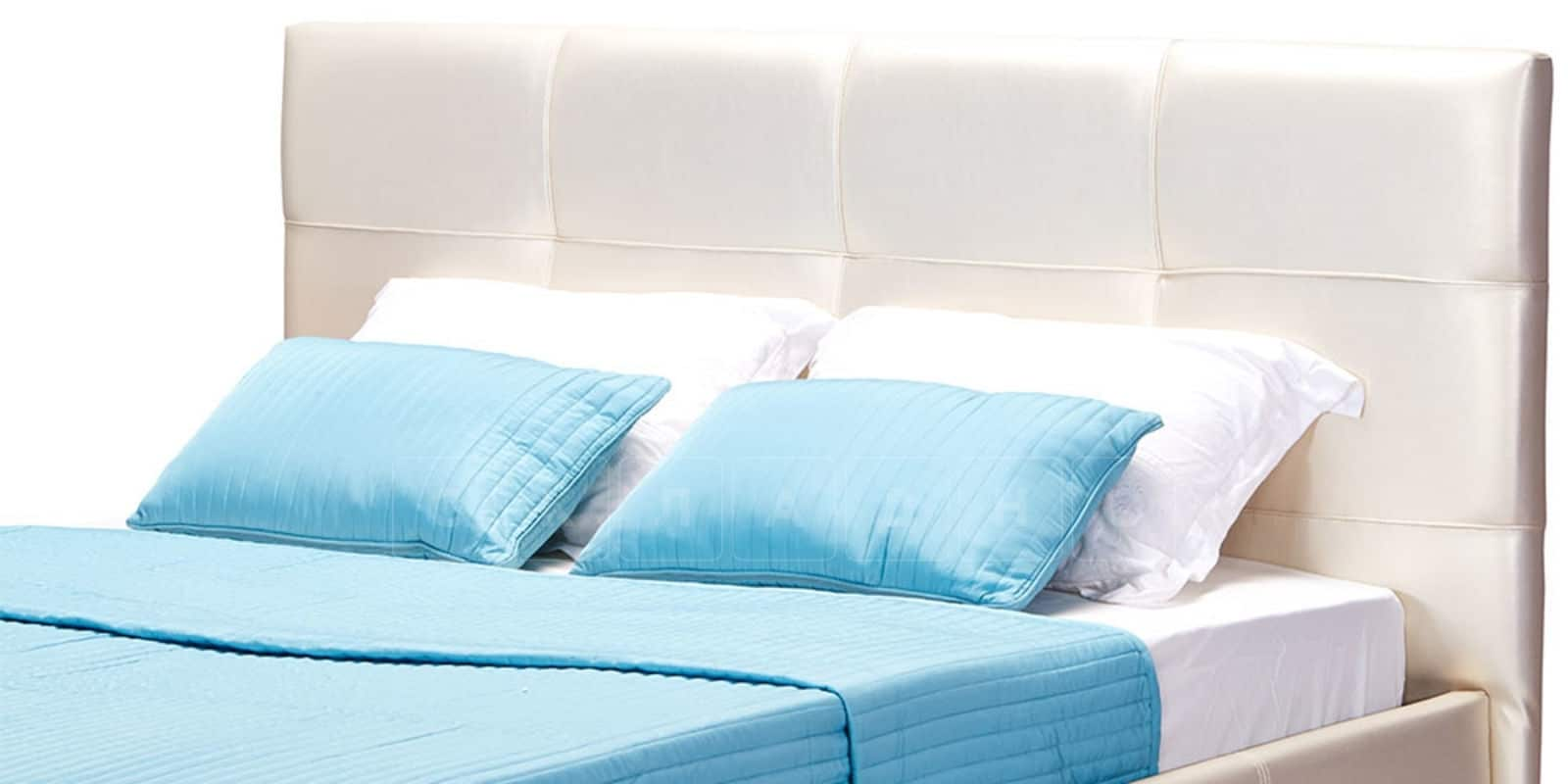 Мягкая кровать Лайф 160см перламутр с подъемным механизмом фото 6 | интернет-магазин Складно
